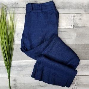 The Limited Linen Cassidy Fit Pants Sz 0 Petite